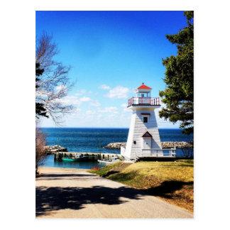 Hampton Lighthouse Bridgetown Nova Scotia Canada Postcard