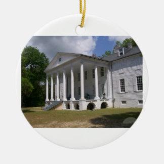 Hampton Plantation Ceramic Ornament