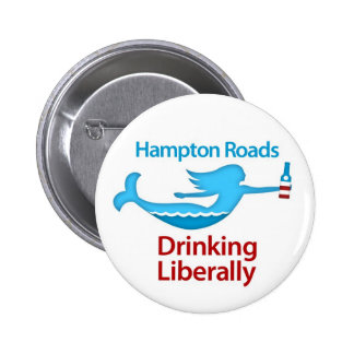 Hampton Roads Drinking Liberally Round Buttons