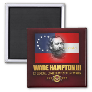Hampton (Southern Patriot) 2 Inch Square Magnet