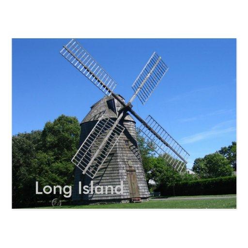 Hamptons, Long Island Postcard