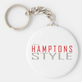 Hamptons Style keychain
