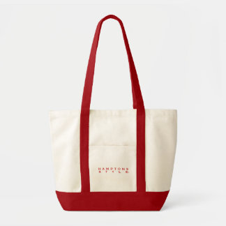 Hamptons Style Red Tote Bag