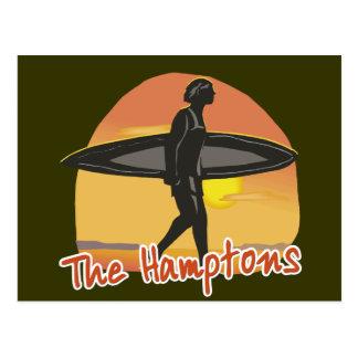 Hamptons Surf Postcard