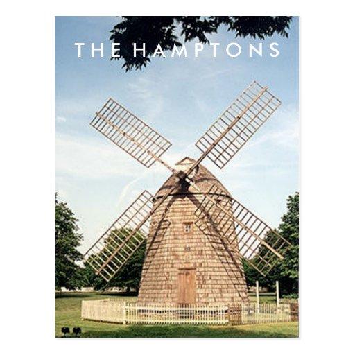 Hamptons Windmill POSTCARD