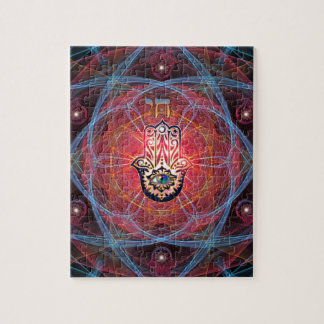 Hamsa - CHAI - Sacred Geometry Puzzles