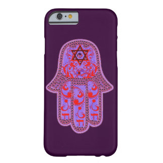 Hamsa Chai Star of David and Eye Barely There iPhone 6 Case