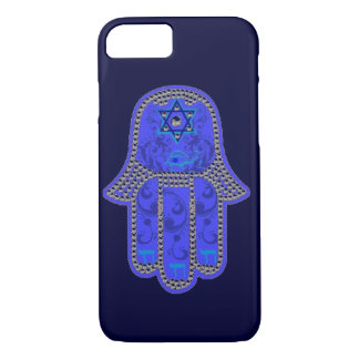 Hamsa Chai Star of David and Eye iPhone 8/7 Case