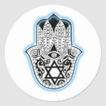 Hamsa Classic Round Sticker