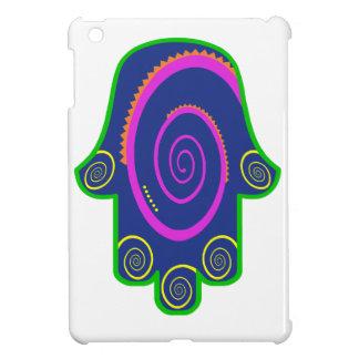 Hamsa Colorful Nail Swirls Zazzle.png iPad Mini Cover