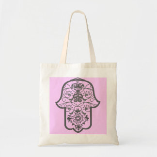 Hamsa floral bolsa