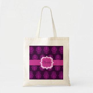 Hamsa floral (rosa) (boda)