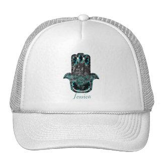 Hamsa Flower Life Trucker Hat