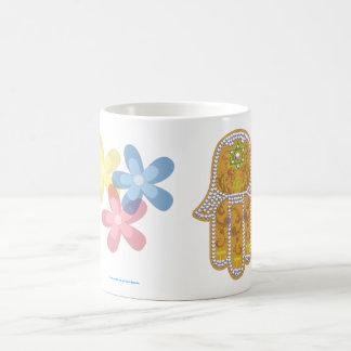 Hamsa good fortune mug
