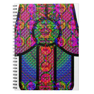 Hamsa / hamesh hand notebook