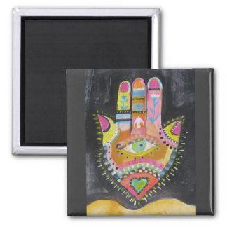 Hamsa hand ART Refrigerator Magnet