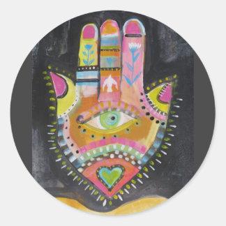Hamsa hand ART Sticker