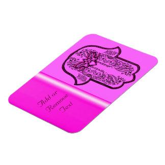 Hamsa Hand feat: Heart (Pink) Magnet