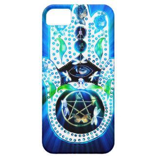 Hamsa Hand Indigo Energy iPhone SE/5/5s Case