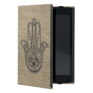 HAMSA Hand of Fatima symbol amulet Cover For iPad Mini