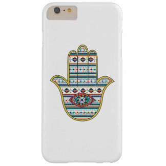 HAMSA Hand of Fatima symbol amulet, tribal Aztec Barely There iPhone 6 Plus Case