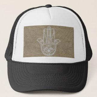 HAMSA Hand of Fatima symbol amulet Trucker Hat