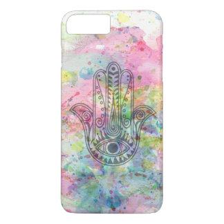 HAMSA Hand of Fatima symbol iPhone 7 Plus Case