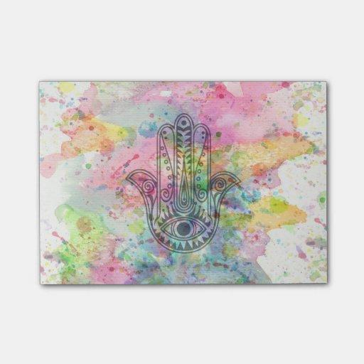 HAMSA Hand of Fatima symbol Post-it® Notes