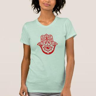 Hamsa - hand of the Fatima - protection symbol - T-Shirt