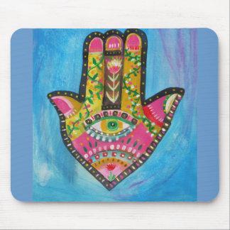 Hamsa Hand painting Mouse Pad