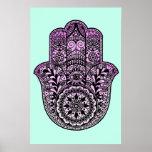 Hamsa Hand Poster