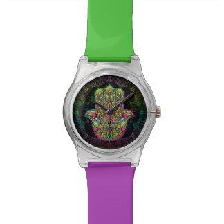 Hamsa Hand Psychedelic May28th Watch