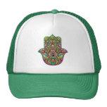 Hamsa Hand Psychedelic Trucker Hat