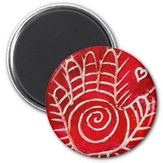 Hamsa / Healing Hand / Hand of Fatima 2 Inch Round Magnet