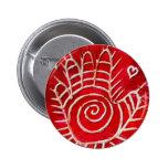 Hamsa / Healing Hand / Hand of Fatima Pinback Buttons
