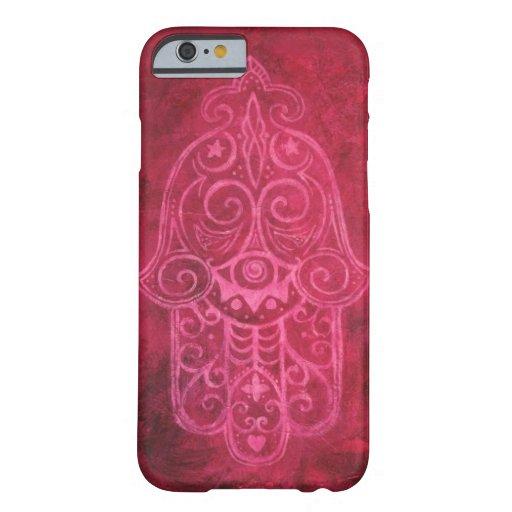Hamsa in Magenta iPhone 6 Case