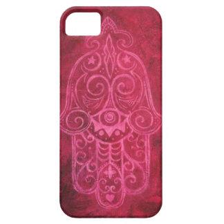 Hamsa in Magenta iPhone SE/5/5s Case