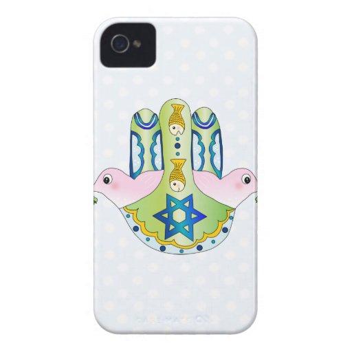 Hamsa judaica Case-Mate iPhone 4 case