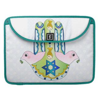 Hamsa judaica sleeve for MacBook pro
