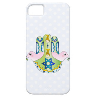 Hamsa judío iPhone 5 carcasas
