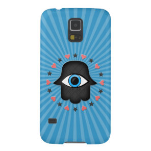 hamsa khamsa Eye in hand of the goddess Case For Galaxy S5