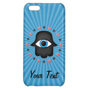 hamsa khamsa Eye in hand of the goddess Cover For iPhone 5C