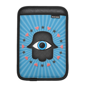 hamsa khamsa Eye in hand of the goddess iPad Mini Sleeve