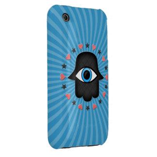 hamsa khamsa Eye in hand of the goddess iPhone 3 Cover