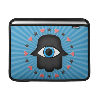 hamsa khamsa Eye in hand of the goddess Sleeve For MacBook Air