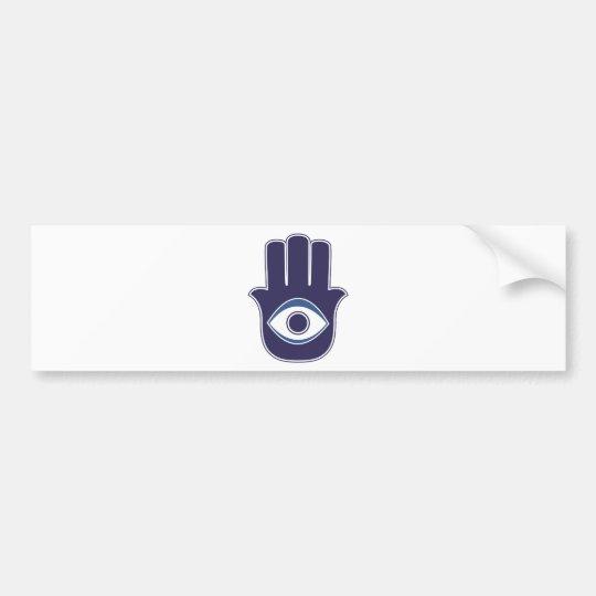 Hamsa / Khamsa Hand of Fatima / Mary Amulet / Luck Bumper Sticker