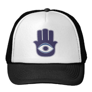 Hamsa / Khamsa Hand of Fatima / Mary Amulet / Luck Trucker Hat