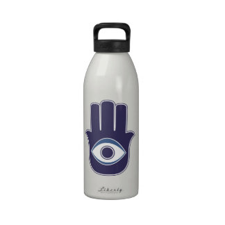 Hamsa / Khamsa Hand of Fatima / Mary Amulet / Luck Reusable Water Bottles