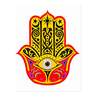 Hamsa - Magic Hamsa Postcard