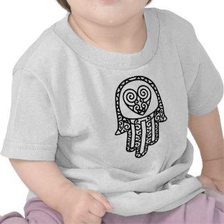 Hamsa - mano de Fátima Camisetas